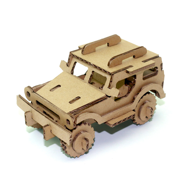 Cardboard Model Kits Palm Army 3D Puzzle Craft for Kid and Family