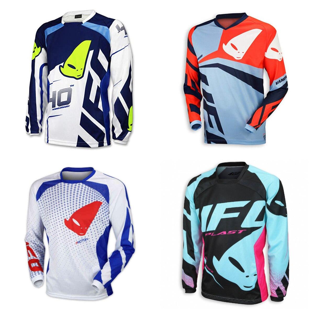 2019 Manga Longa Camisa Moto Downhill Jersey Motocross Motocicleta Mountain Bike Jersey SPEXCEL MTB/MX/DH Ciclismo Inverno