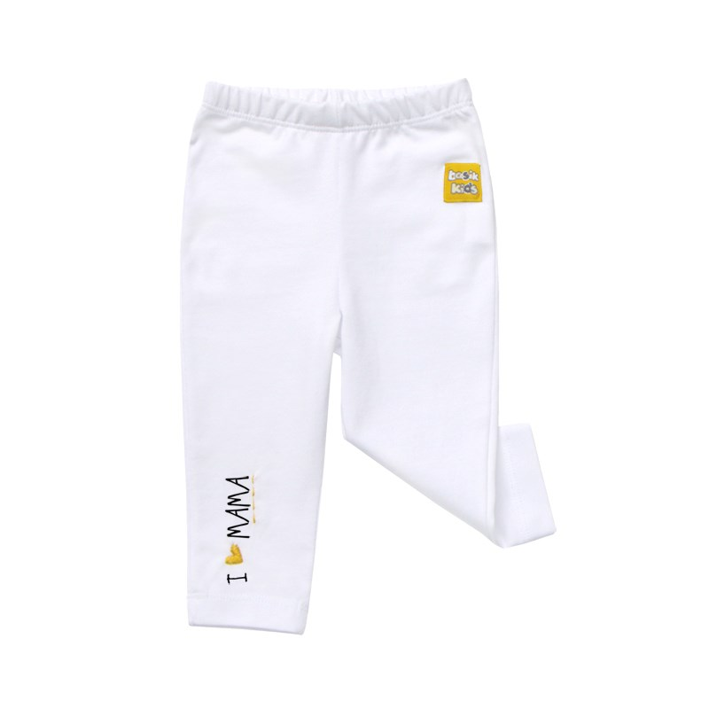 Pants white kids clothes children clothing clothing loves white