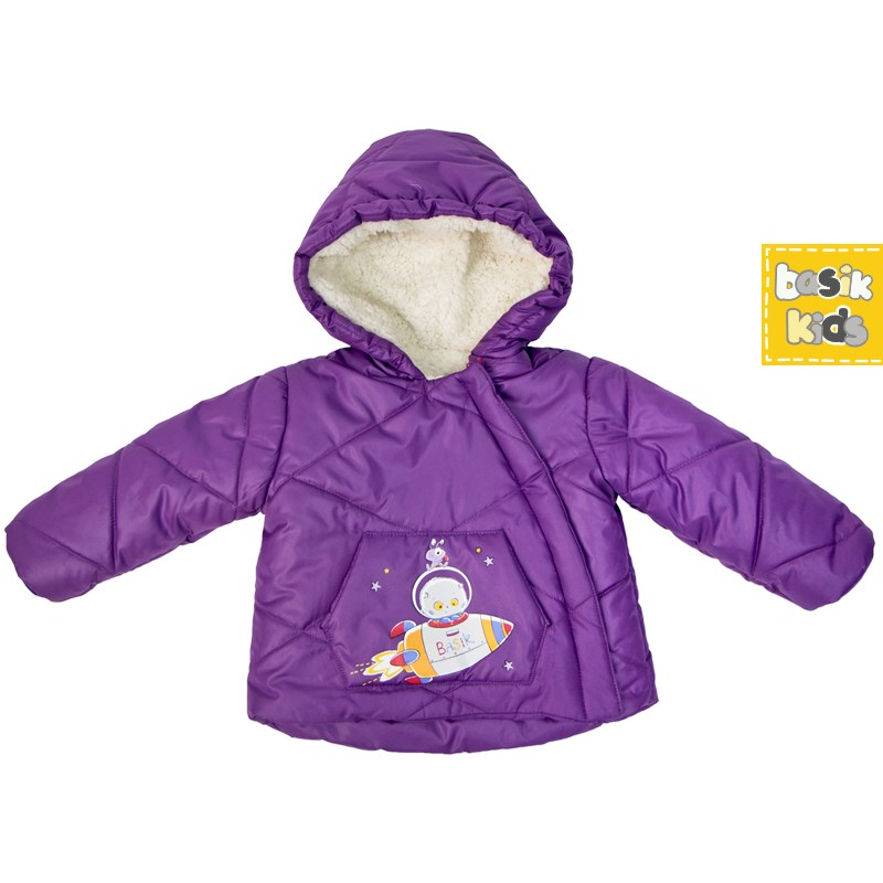 Basik Kids jacket parka purple kids clothes children clothing basik kids jacket bomber jacket yellow kids clothes children clothing