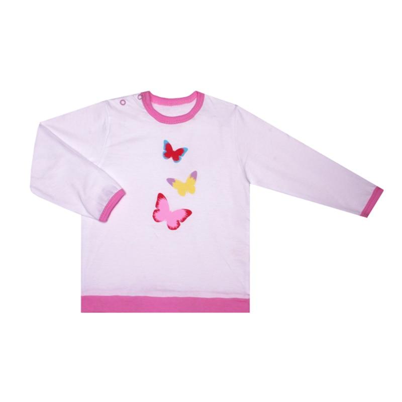 Kotmarkot Baby Girls Hoodies Butterfly Sweatshirts 7853 forudesigns new backpack women for school bags butterfly printing backpacks for teenage girls canvas bagpack mochila feminina