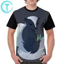 Skunk T Shirt T-Shirt Fashion Man Graphic Tee 6xl Funny Polyester Short-Sleeve Tshirt