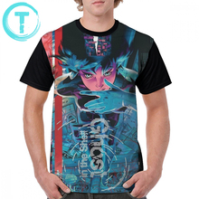 Ghost In The Shell T Shirt T-Shirt 100 Polyester 5x Graphic Tee Short Sleeve Cute Print Summer Male Tshirt