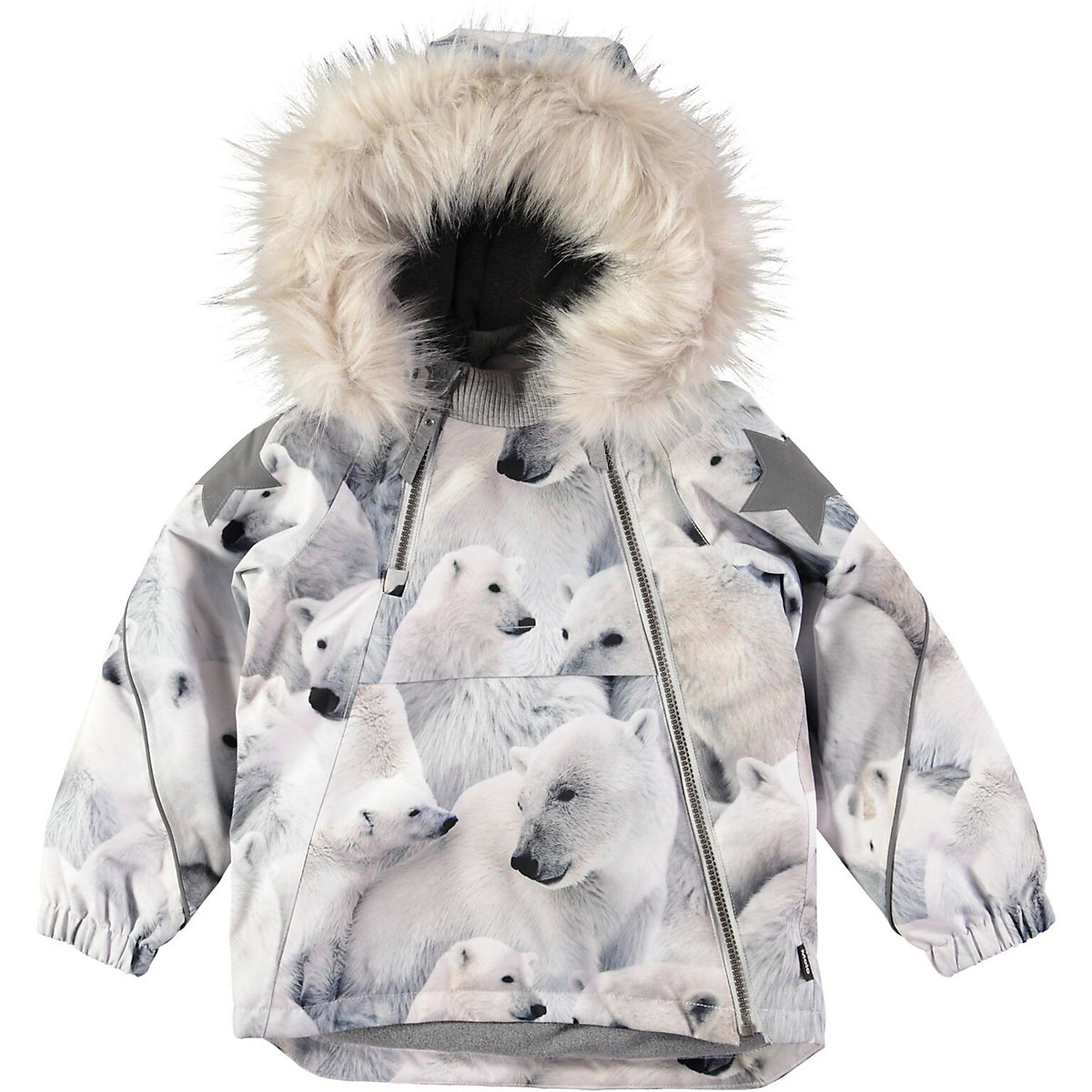 Jackets & Coats MOLO for girls 9170701 Jacket Coat Denim Cardigan Warm Children clothes Kids new fashion winter jacket women fur collar hooded jacket warm thick coat large size slim for women outwear parka women g2786