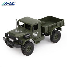 JJR/C JJRC Q62 1:16 4WD Off-Road Military Trunk Crawler RC Car Remote Control Off-Road Toys for Boy Birthday Gift Buggy Machine(China)