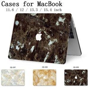 Image 1 - Funda para ordenador portátil para MacBook 13,3 de 15,4 pulgadas para Retina MacBook Air Pro 11 12 con teclado Protector de pantalla cove