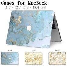 2019 dla Notebook Case Hot torba na laptopa dla MacBook Air Pro Retina 11 12 13 13.3 15.4 Cal z ekranem protector klawiatura Cove