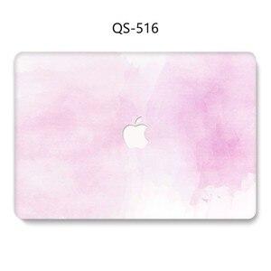 Image 2 - Na laptopa etui na Macbooka 13.3 15.4 Cal dla MacBook Air Pro Retina 11 12 13 15 z osłoną ekranu klawiatura Cove nowy przypadku jabłko