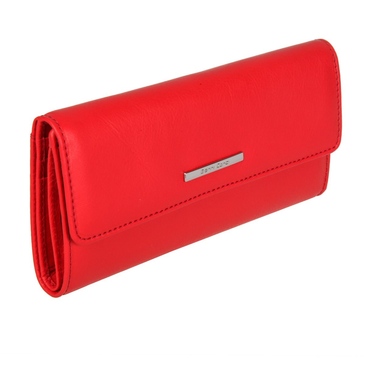 Coin Purse Gianni Conti 9508245 red luxury brand fashion wallet female genuine leather wallet women purse phone long purses coin purse money bag women card holder