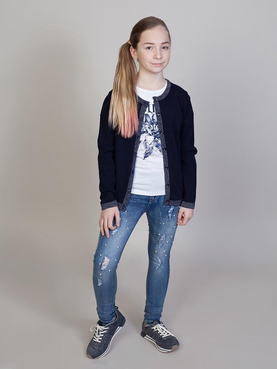 [Available with 10.11] denim pants for girls girls animal print pants
