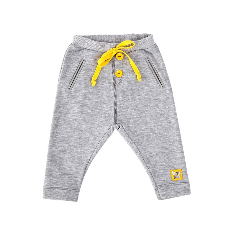 Basik Kids Pants with pockets gray melange kids clothes children clothing цена и фото