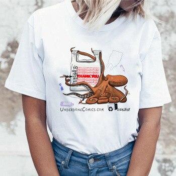 Summer Video Game Hippie Plus Size Streetwear T-shirt 90s Art Tee Doodle Female Grunge Women Tshirt T Shirt Top Streetwear