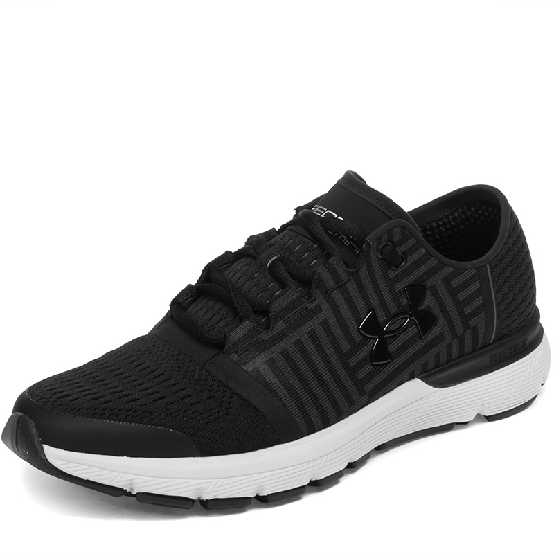 Under Armour running shoes 1285652-005 nike original new arrival mens running shoes air max modern light quick dry low top for men 844874 402 844887 005