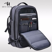 ARCTIC HUNTER Mochila Portatiles Male Backpack Waterproof USB Port 18inches Laptop Men Travel Large Capacity