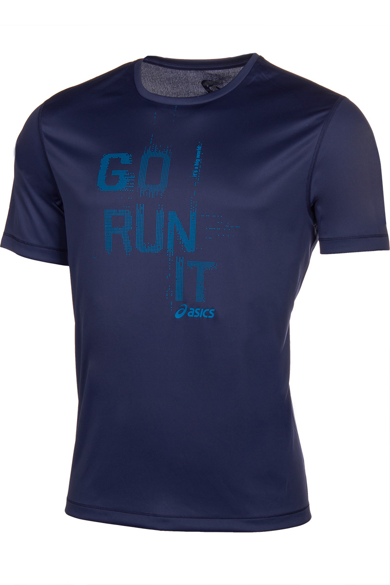 ASICS men t-shirt S125141-8133 3d bird and flower printed plain fly shirt collar long sleeves shirt for men