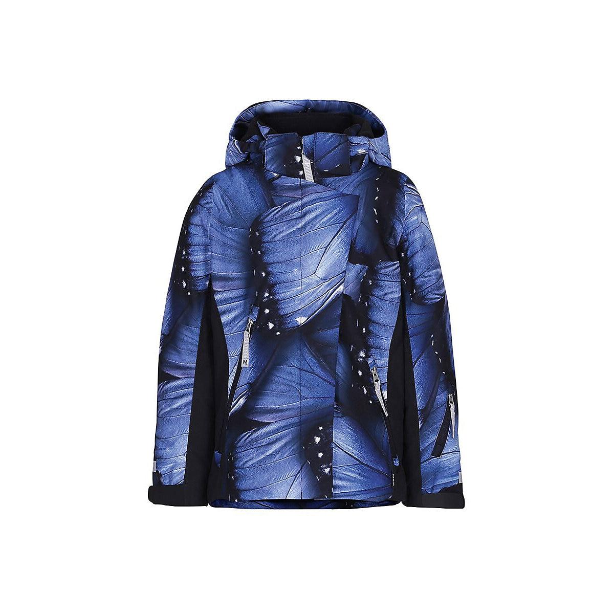 Jackets & Coats MOLO for girls 9170576 Jacket Coat Denim Cardigan Warm Children clothes Kids MTpromo ribbed hem zip up denim jacket