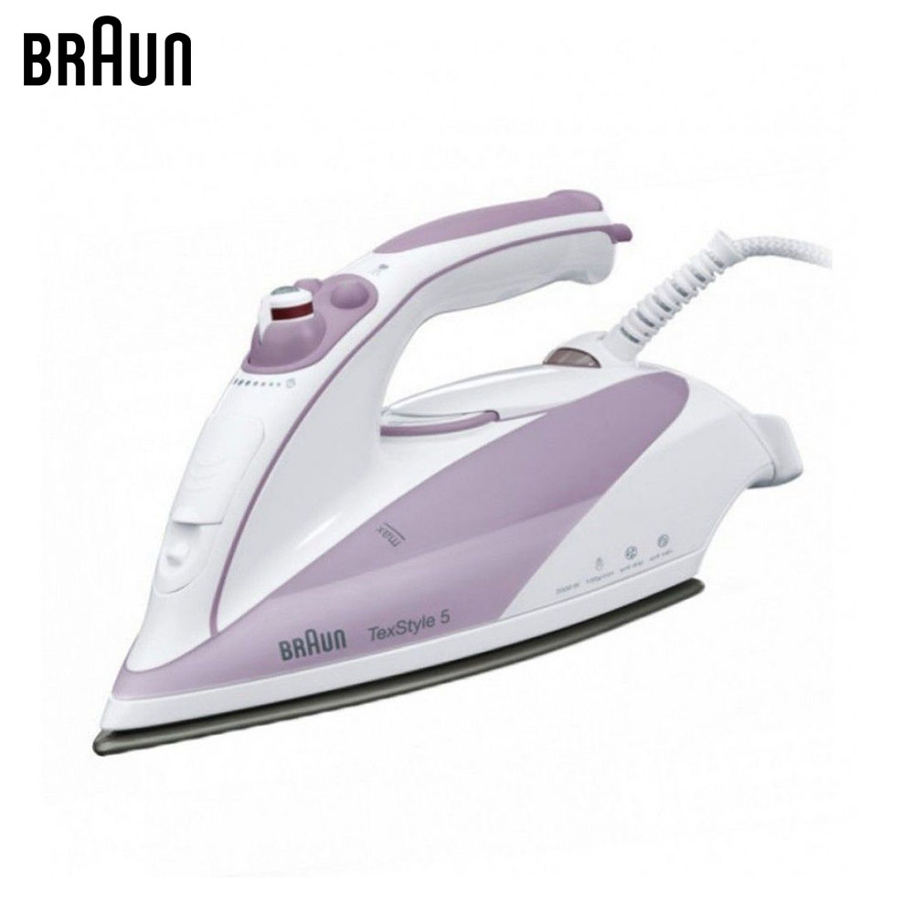Electric Irons Braun TexStyle 5 TS505 steam iron steamer electric irons braun texstyle 5 ts535 tp steam iron steamer