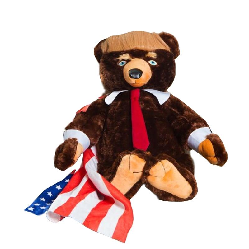 Donald Trump 60cm teddy bear toys new Cool toys gift for children boy free shipp