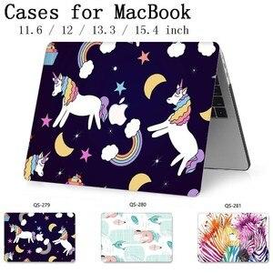 Image 1 - Novo Notebook Sleeve Para MacBook Air Pro Retina 11 12 13 Quente 15.4 13.3 Teclado Enseada Polegada Com Protetor de Tela para o Caso Do Laptop