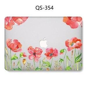 Image 2 - 새로운 핫 노트북 케이스 13.3 15.6 인치 Macbook Air Pro Retina 11 12 13 15.4 화면 보호기 키보드 코브 선물