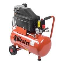 Компрессор WESTER LE 024-150 OLC  поршневой масляный, 1500 Вт, 206л/мин, 8бар