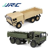 JJRC Q64 1/16 2.4G 6WD Rc Car Military Truck Off road Rock Crawler RTR Remote Control Model Off Road Vehicle Toy For Kids Gifts