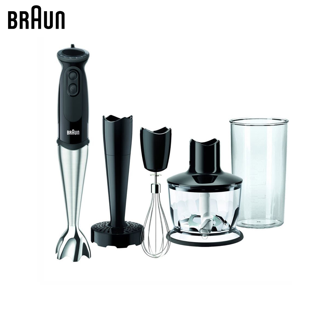 Blenders Braun Multiquick 5 Vario MQ5137 Sauce+ chopper food processor submersible