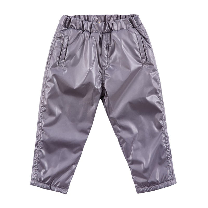 Basik Kids Pants warm kids clothes children clothing basik kids pants with side pockets anthracite