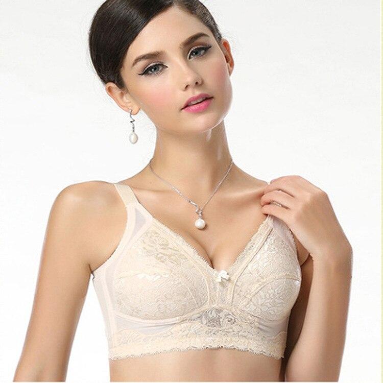 Plus Size Brand New 2018 Sexy Lace Top Women Push Up Bra Bralette Underwear 75 80 85 90 95 B C D E F G Cup 34 36 38 40 42BCDEFG in Bras from Underwear Sleepwears