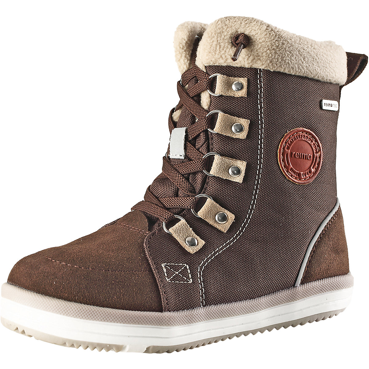 REIMA Boots 8624998 for boys winter boy baby shoes child snow boots male shoes plus velvet child girls big boy baby winter boots ankle boots 2016 winter