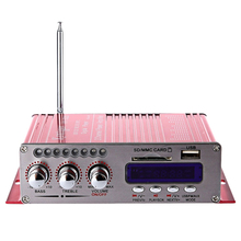 Kentiger Hy-502S 2Ch Bluetooth Hi-Fi Super Bass Output Power Stereo Amplifier With Remote Controller Usb/Sd Card Player Fm Rad lepy lp v9s mini hi fi 180w output power amplifier hi fi stereo loudsper support fm function with romote control