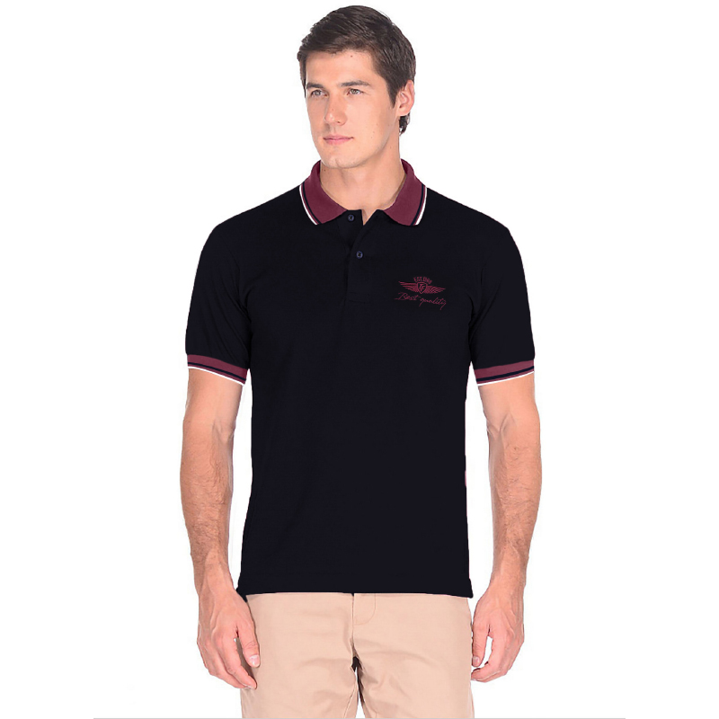 Men's polo shirt tom farr T M4032.67 t shirt polo short sleeve greg g134 blue blue