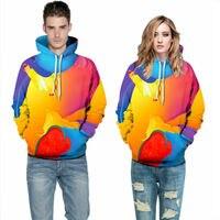 Autumn Winter Fashion Lion Digital Printing Men/Women Hooded Hoodies Cap Windbreaker Jacket 3d s