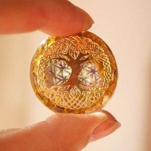 Image 4 - AURAREIKI collecte des ailes de Fortune affaires Chakras naturel pendentifs dénergie Orgonite colliers énergétiques autrichiens pour les femmes