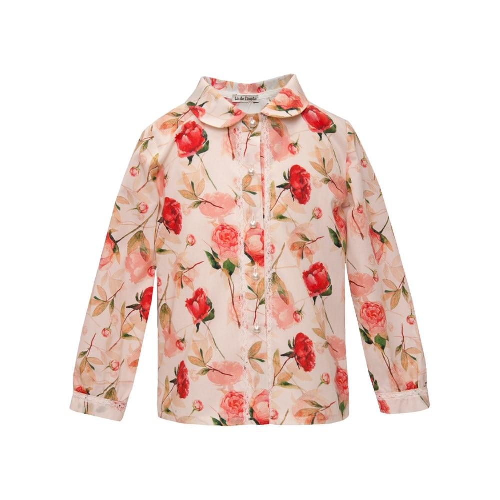 Blouse rose M kids clothes children clothing blouse dioxide blouse
