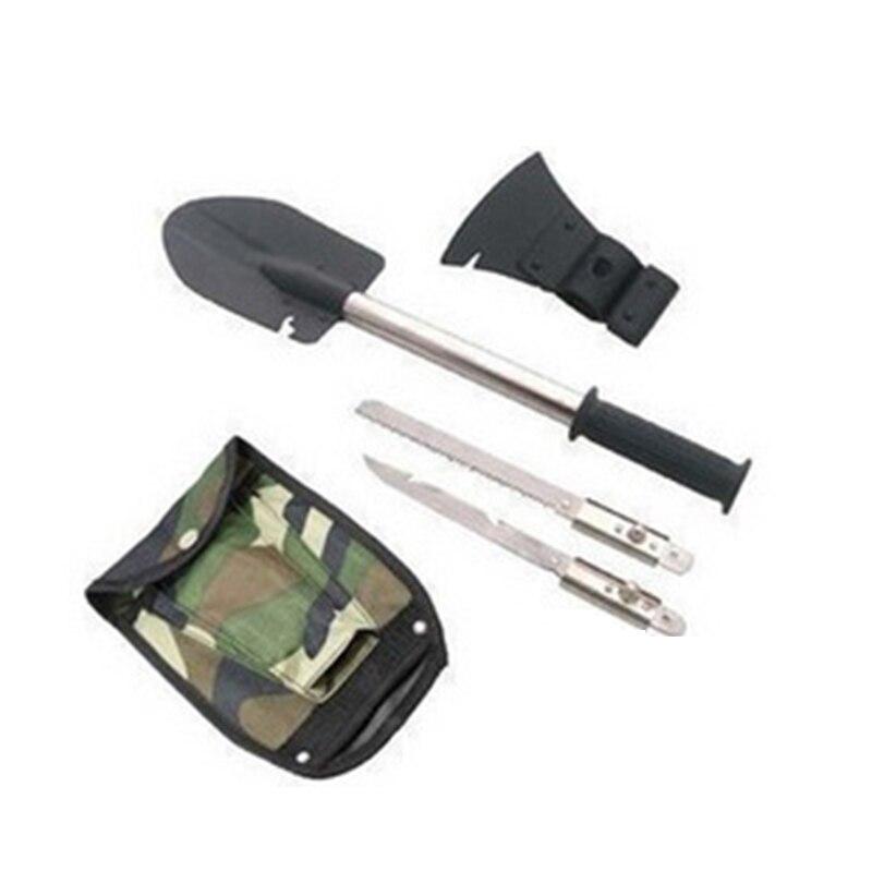Armure shovelFishing Outils Portable Pelle Pliante Spade Urgence de Survie Truelle Jardin Camping De Nettoyage