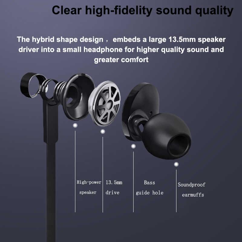 オリジナルフィリップス Tx1 雇用イヤホン高解像度ハイファイ発熱イヤフォンの Ear ノイズキャンセル Xiaomi Huawei 社のスマートフォン