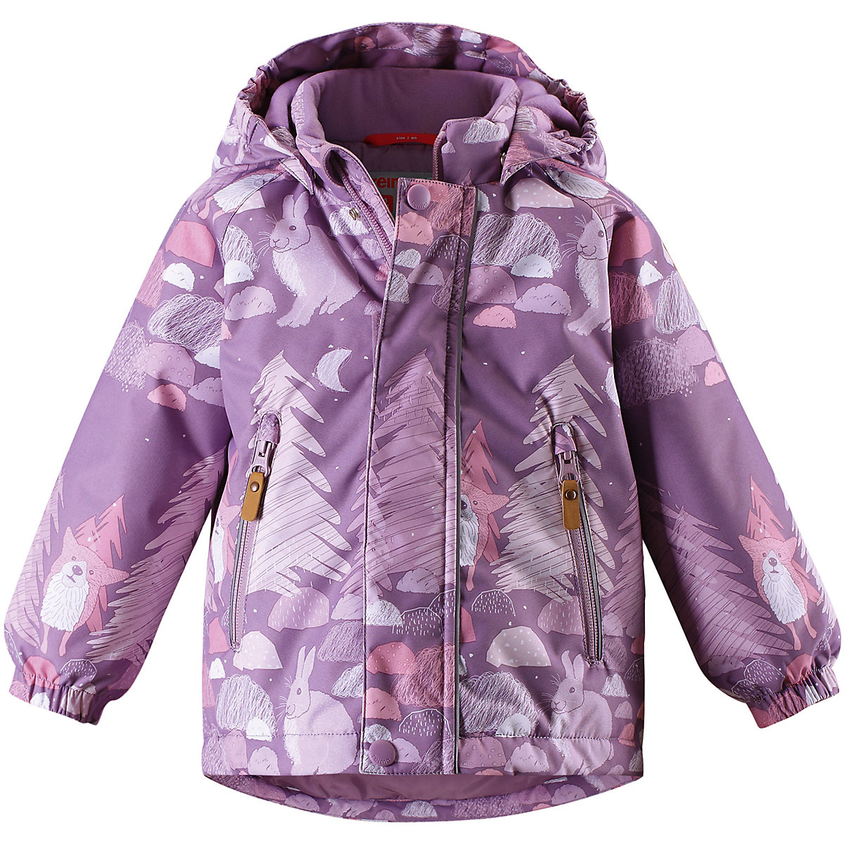 REIMA Jackets 8665456 for girls polyester winter  fur clothes girl 2016 new style popular 18 inch american girl doll pajamas clothes dress for christmas gift abd 072