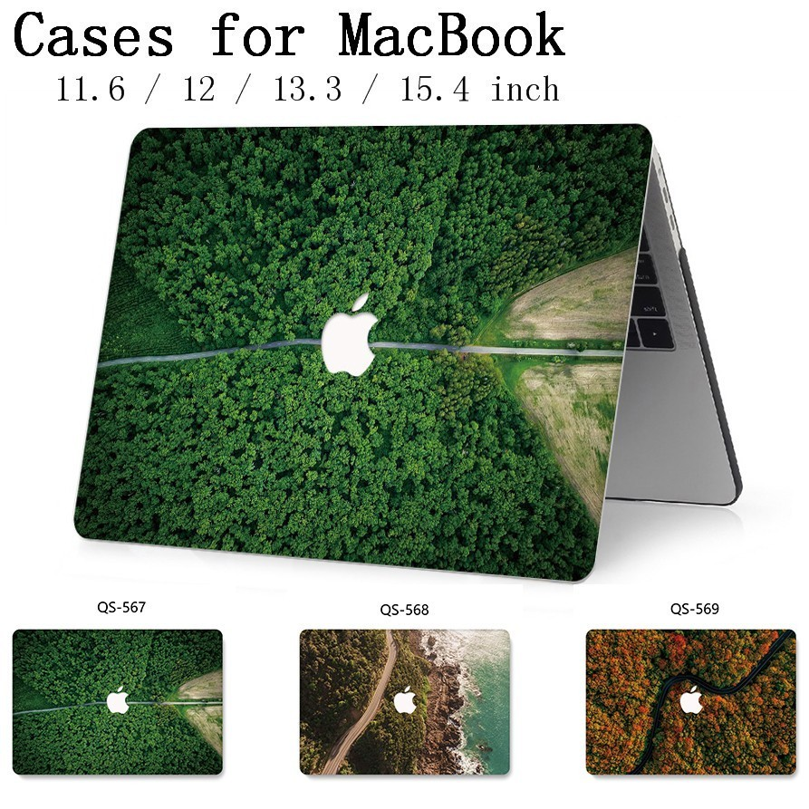 New Case For Apple MacBook Air Pro Retina 11 12 13 15 For MacBook 13 3 15 4 Inch Laptop Case With Screen Protector Keyboard Cove in Laptop Bags Cases from Computer Office