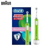 Детская электрическая зубная щетка Braun Oral-B Junior D16.513.1