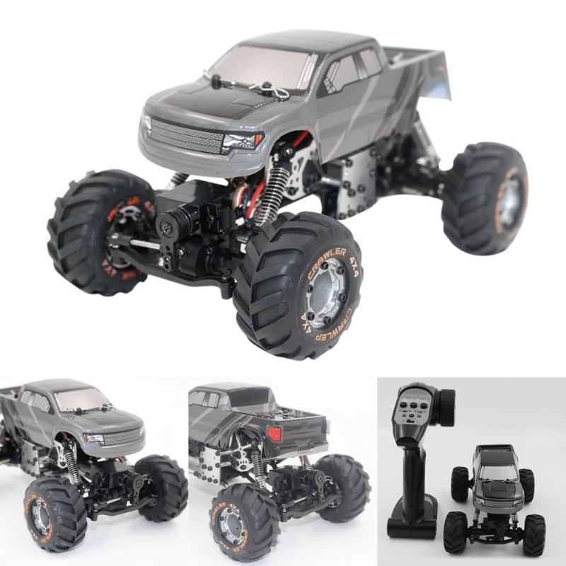 2098B 1 / 24 4 Wheel Drive Racing Car Climber/Crawler Metal Chassis RC Car-in RC Cars from Toys & Hobbies    1