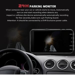 Image 2 - Car Dvr Camera 4.0 Inch Screen Full HD 1080P Dual Lens with Rear View Dashcam Auto Registrar Car Video Recorder DVRs Camcorder