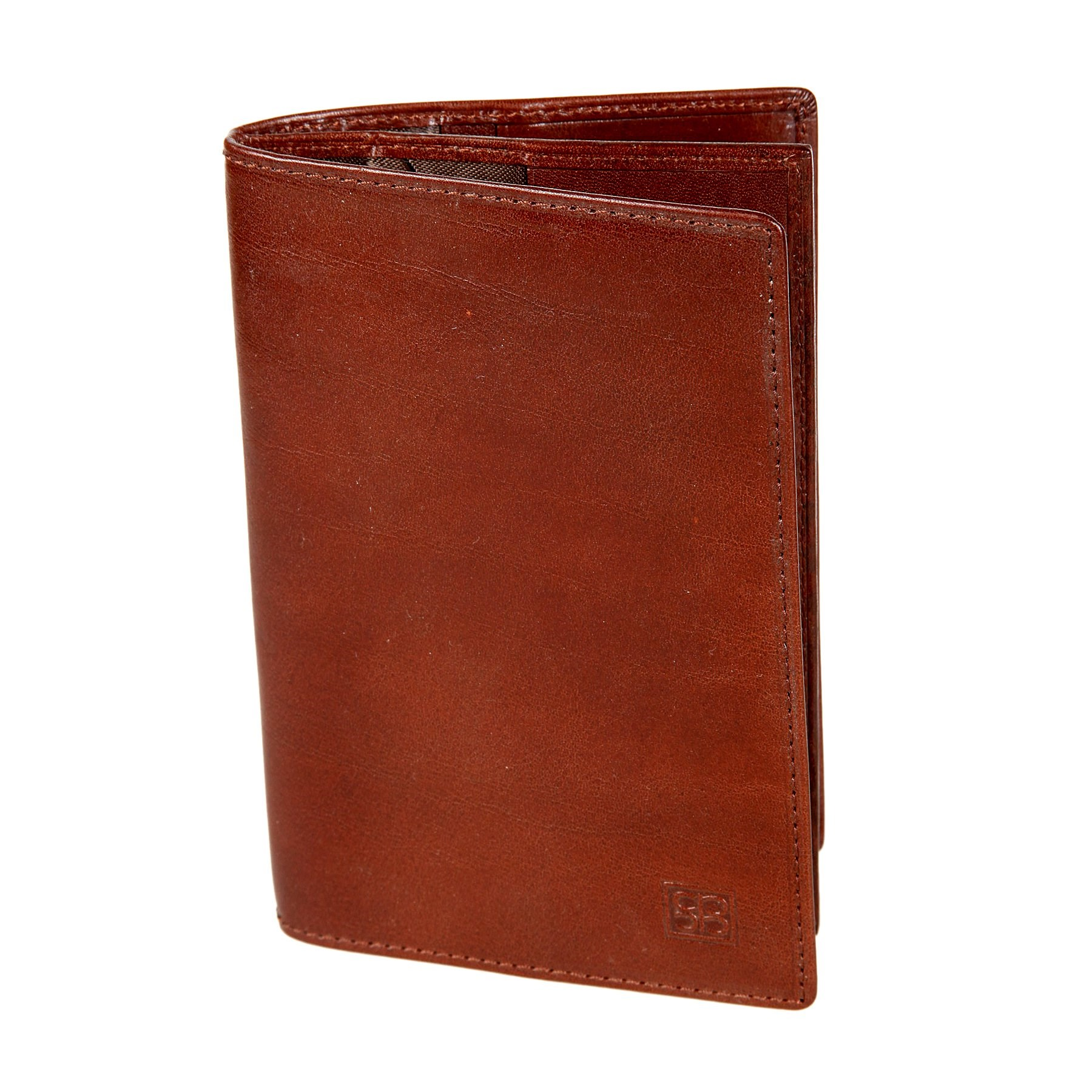 Cover for documents Sergio Belotti 1424 Milano Brown original view window flip pu leather case cover for uhappy up920