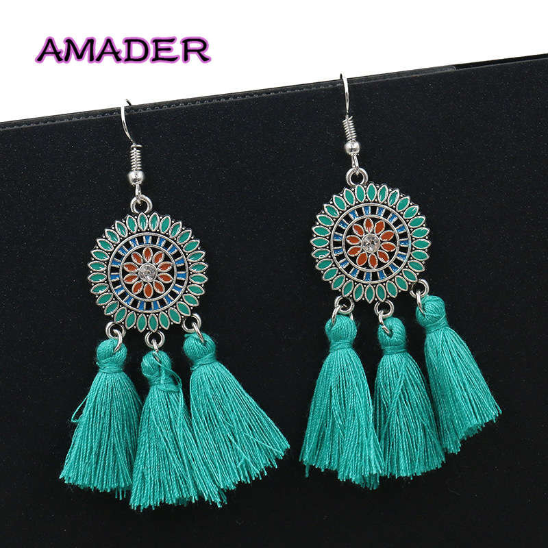 Women's Earring Exaggerate Pendientes Girl New Big for Jewelry Female Brincos Sun-Flower