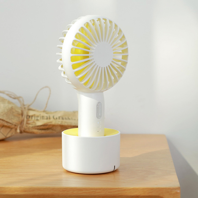 Image 3 - Fan Mini Handheld Desktop Outdoor Silent Portable Bracket Small Fan Usb Charging Fan-in Fans from Consumer Electronics