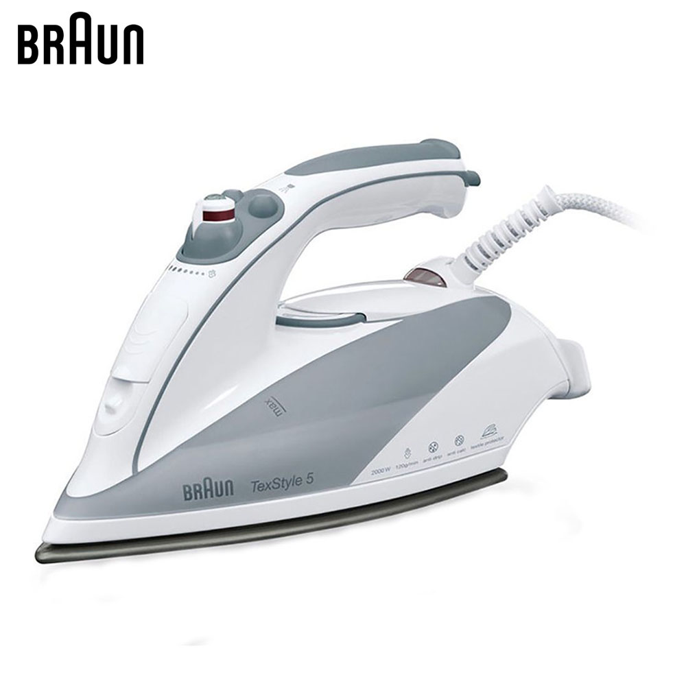 Electric Irons Braun TexStyle 5 TS535 TP steam iron steamer electric irons braun texstyle 5 ts535 tp steam iron steamer