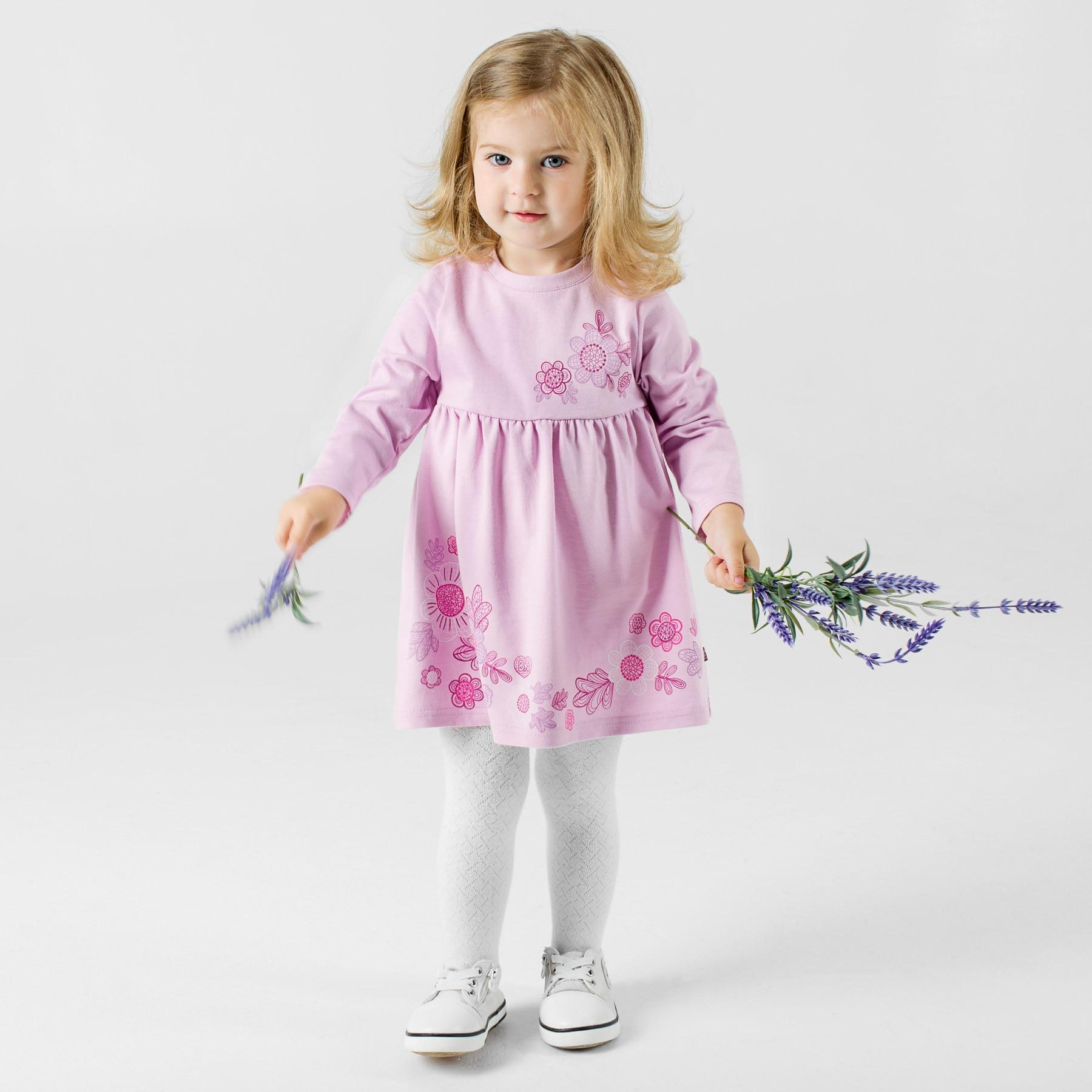 Bossa Nova Dress for girls 135B-161s платья для девочки summer gtyle baby girl версия для печати flower dot girl dress for wedding girls party dress with bow dress for 4 8 years