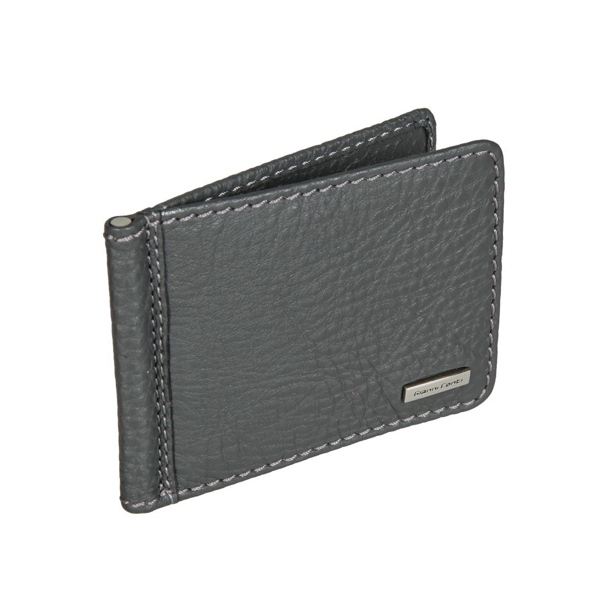 Money clip Gianni Conti 9517034 dark gray edcgear abs double sides slim money clip card holder