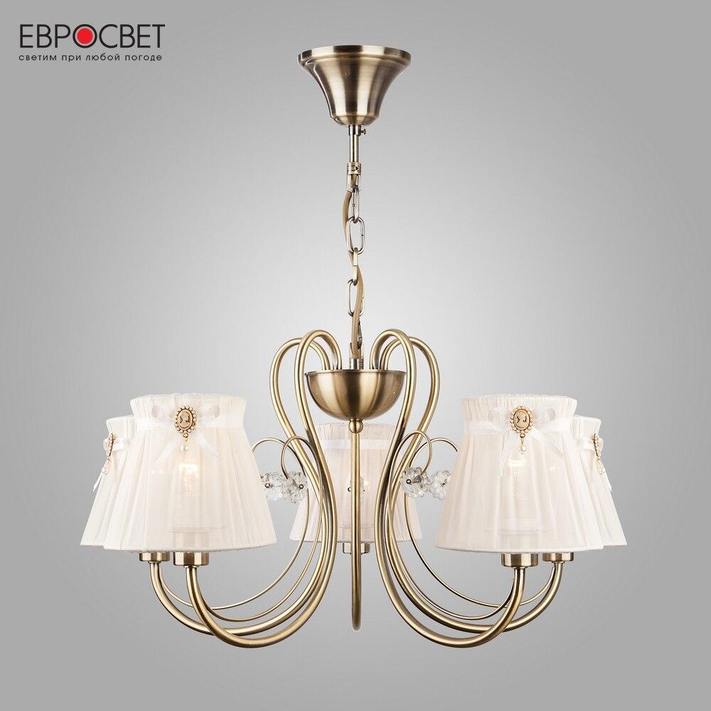 Chandeliers Eurosvet 84546 ceiling chandelier for living room to the bedroom indoor lighting curren 8086