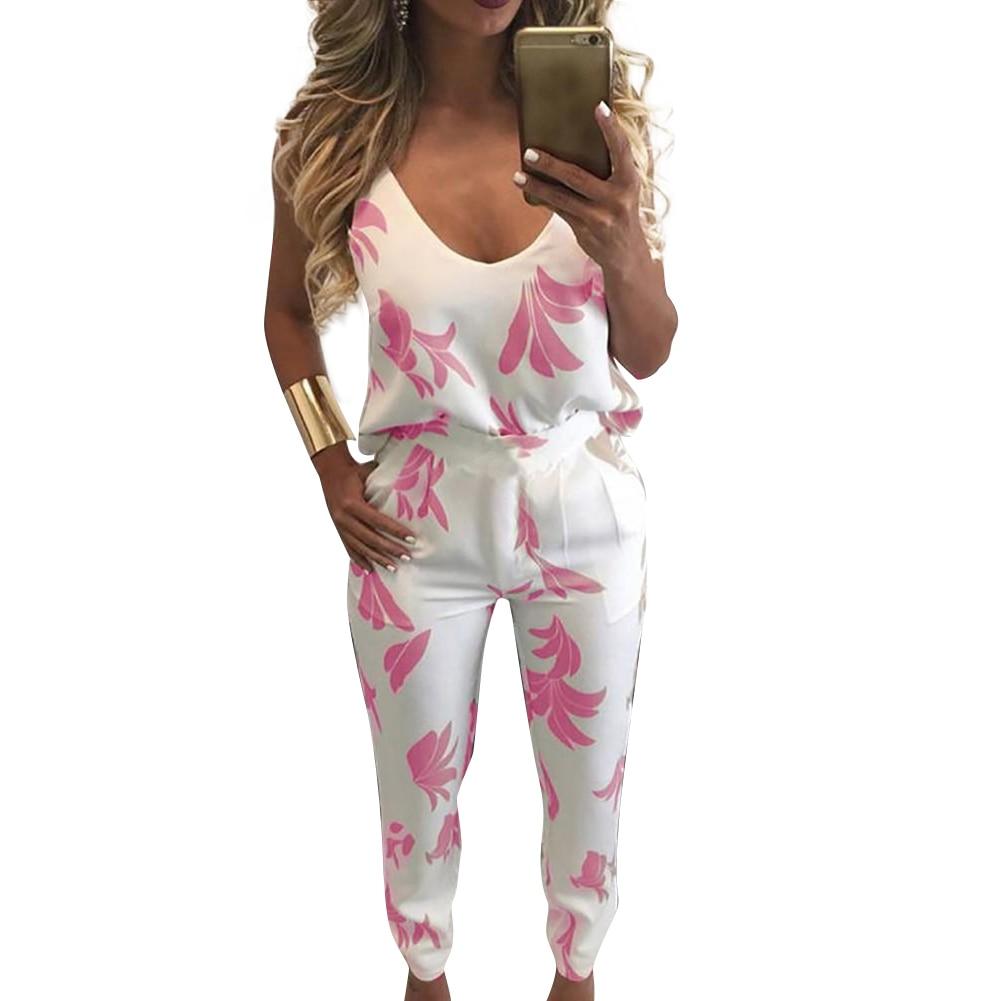 tracksuit-for-women-two-piece-set-cami-tank-top-pants-leaf-print-v-neck-backless-zip-back-vest-trousers-female-sweatpants-2019